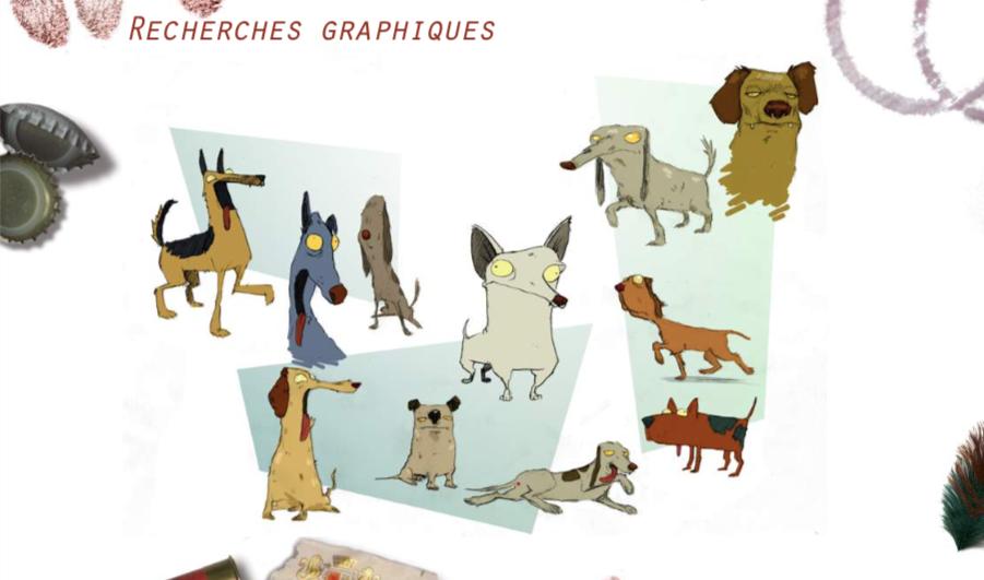 LBC recherche graphique - Les chiens