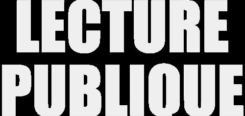 Lecture publique