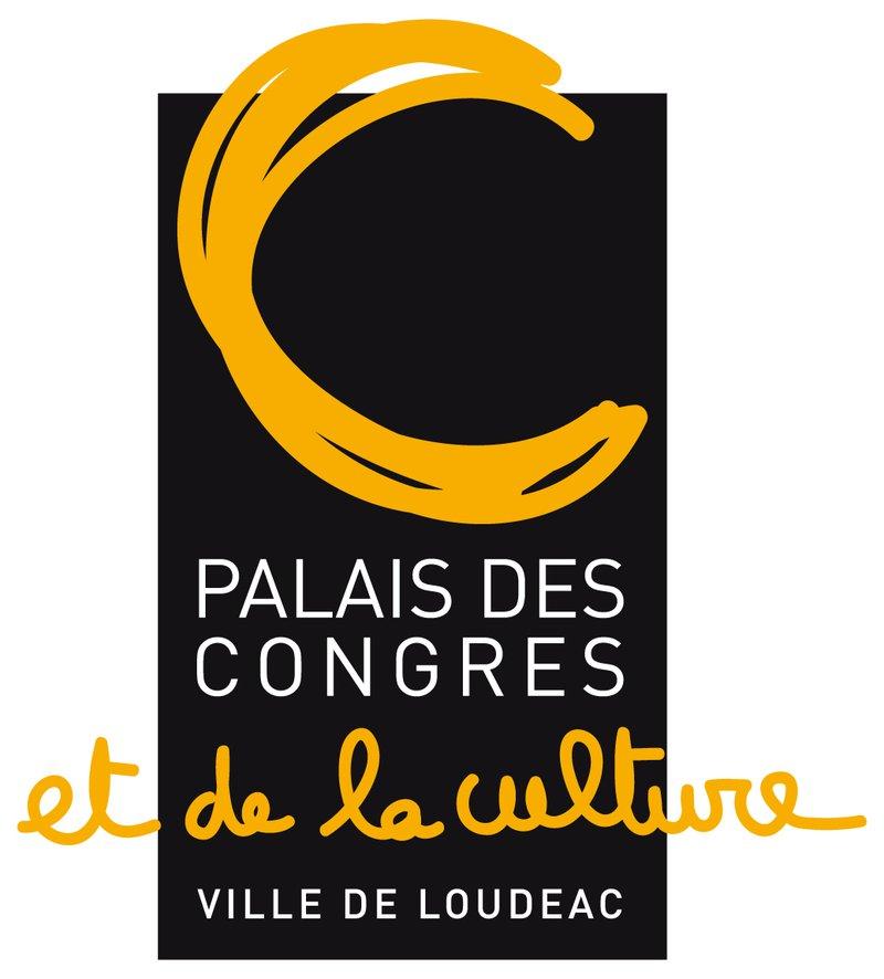 Logo Palais des Congrès et de la Culture Loudéac