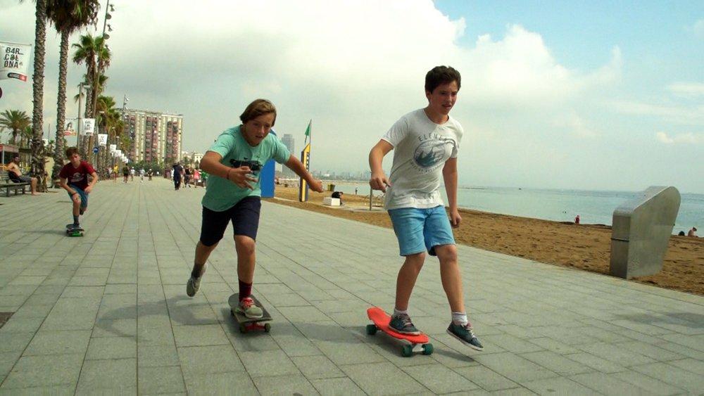 La bande du skate park réalisé par Marion Gervais