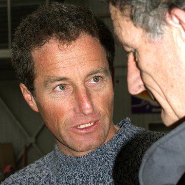 Michel Desjoyeaux et son frère Hubert Desjoyeaux