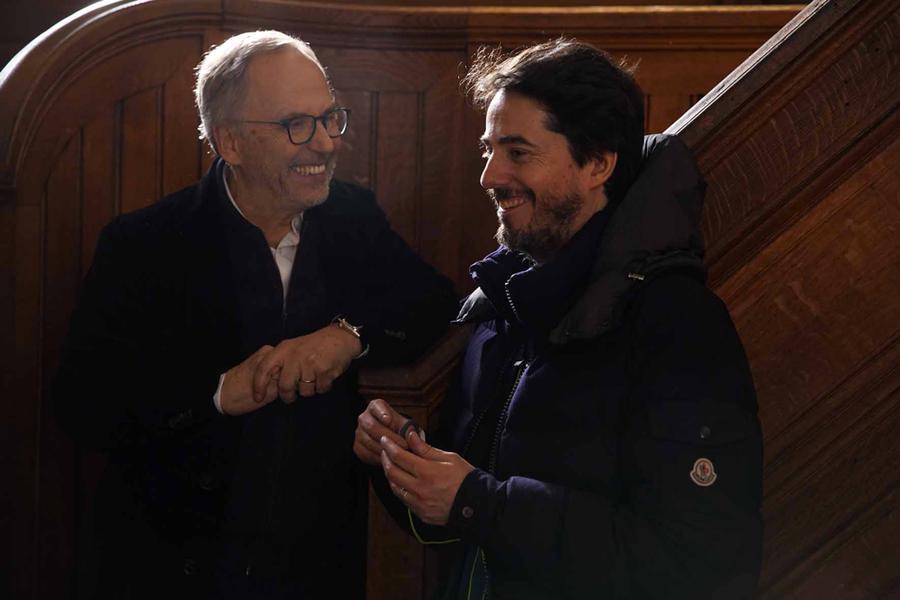 Mystere Henri Pick Luchini et le réalisateur Rémy Bezançon