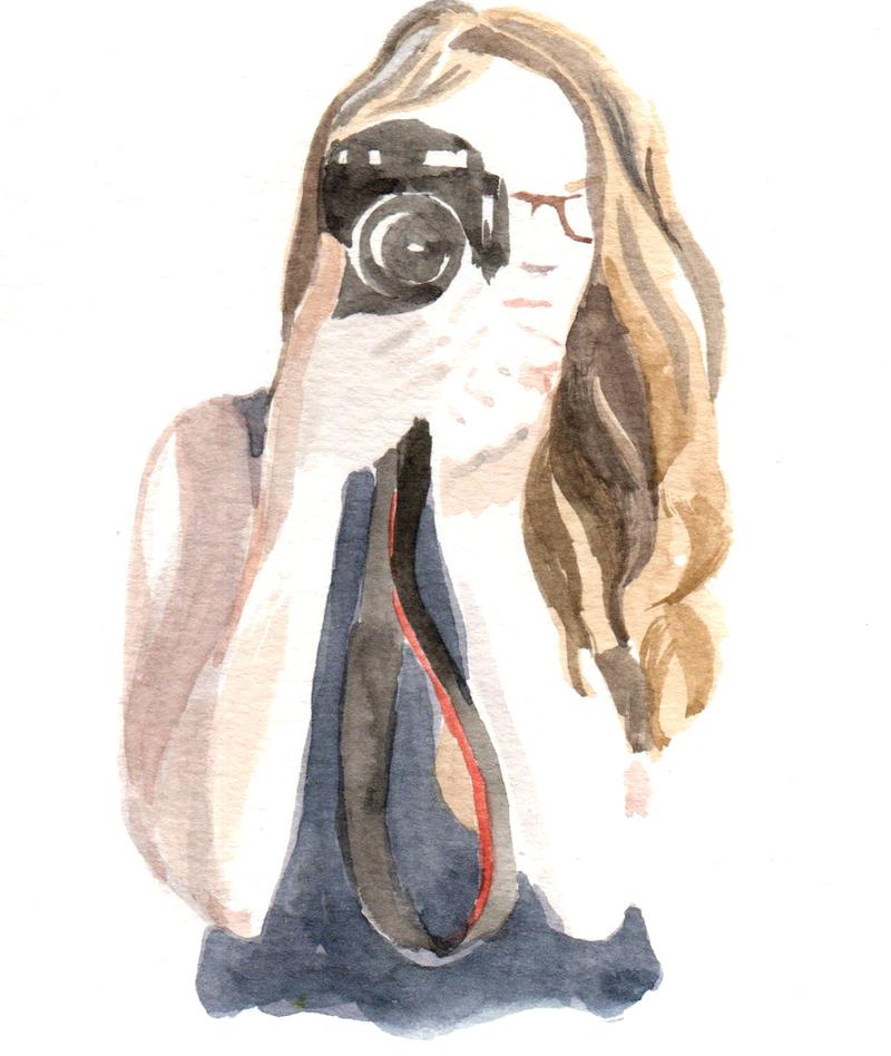 Portrait-emma-burr peintre dessinatrice