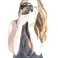 Emma Burr - autoportrait 2018