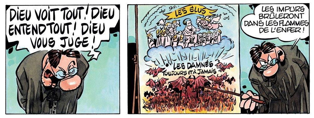 Super Catho - dieu voit tout - René Pétillon