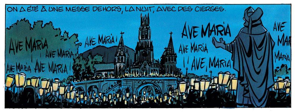 Super Catho - la messe de nuit - BD René Pétillon