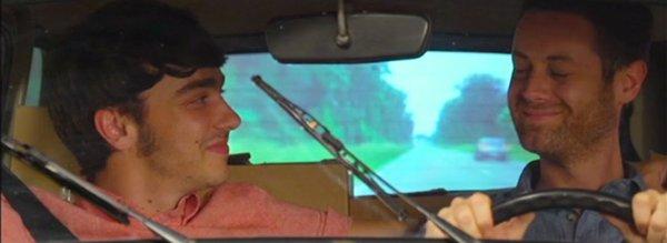 Thomas et Kevin en voiture - ce sera bien