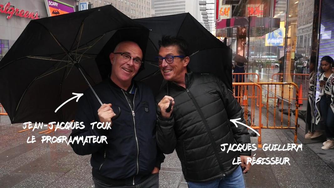 Vieilles Charrues New York Jean jacques Toux et Jacques Guillerm KuB