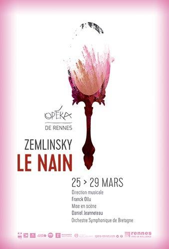 affiche Le Nain - Zemlinsky Opéra de Rennes