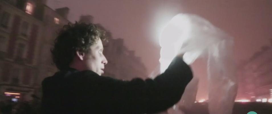 artiste lumière - Rennes Tombées de la nuit