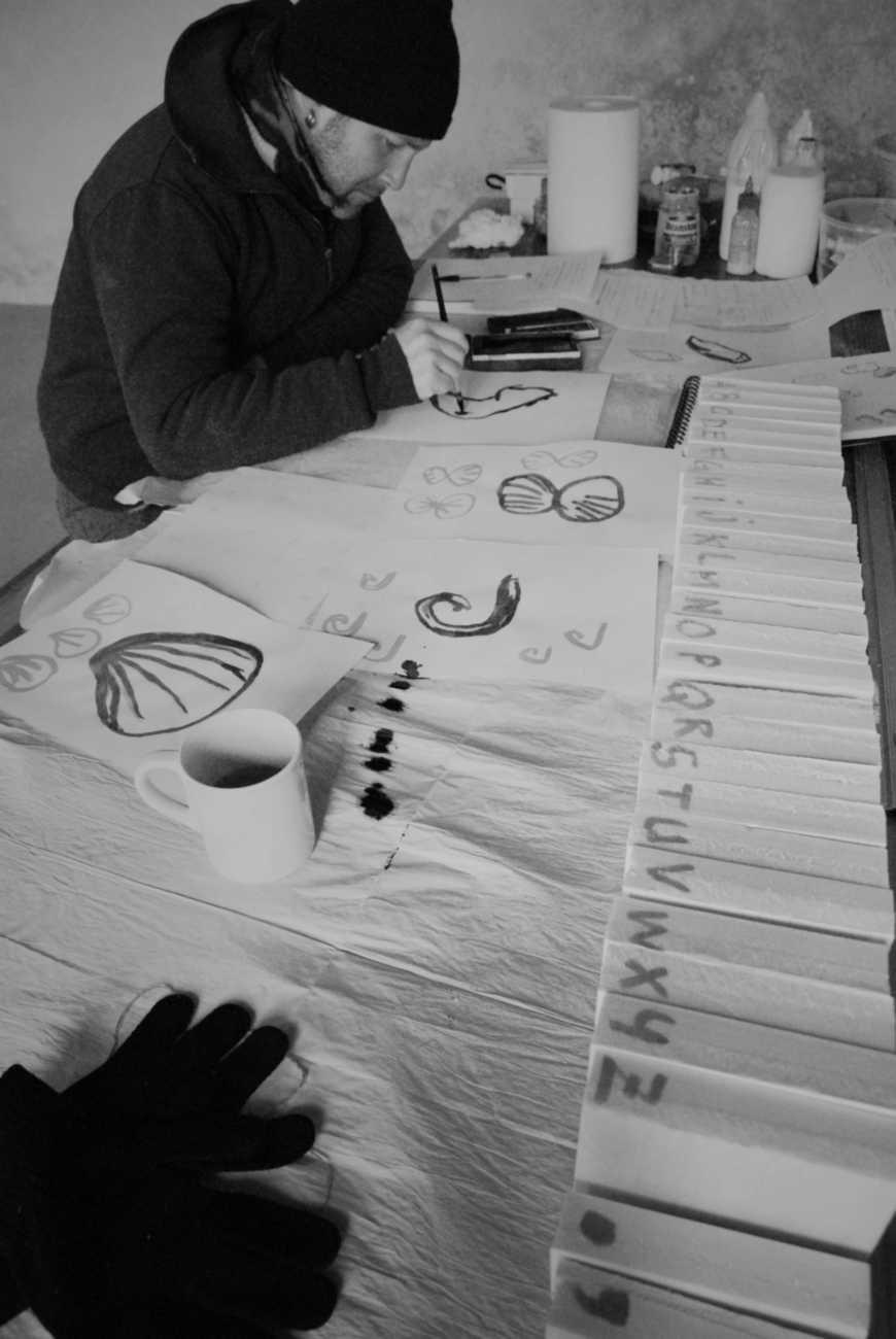 au boulot residence Mathias peintre