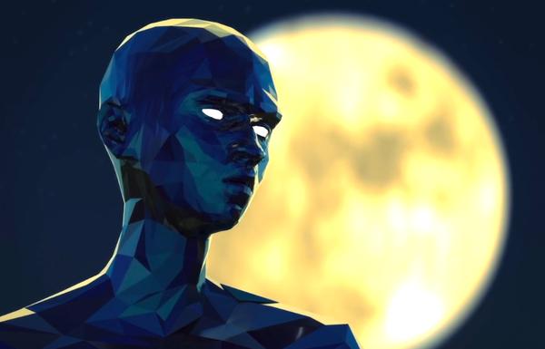 sheer.K - clip - 7 days - personnage et la lune