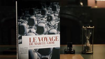 Couverture BD Le Voyage de Marcel Grob