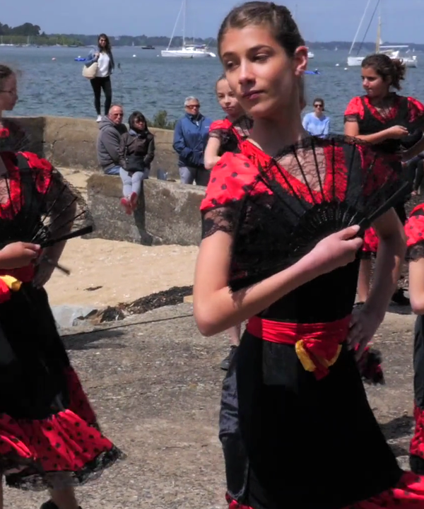 Danseuses flamenco - spectacle Walk! on the wild side