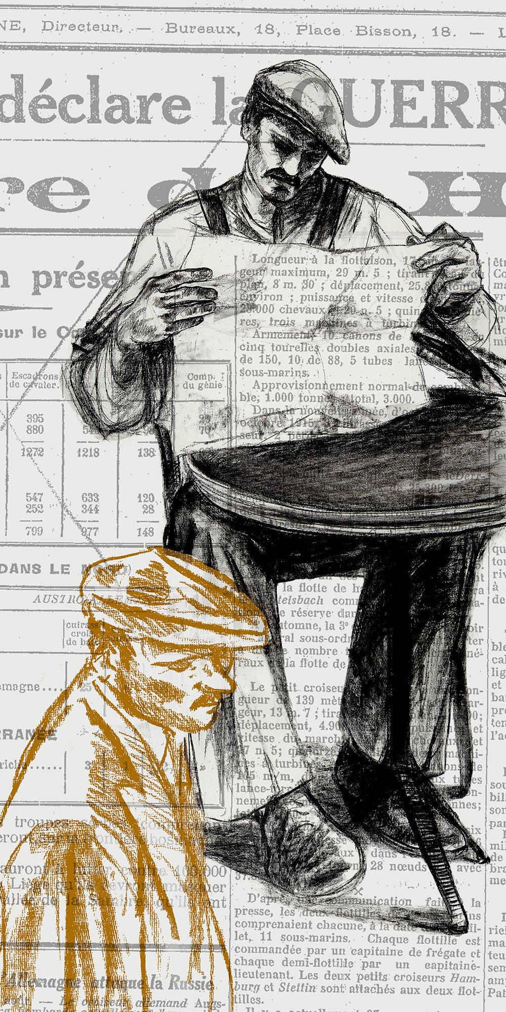illustration archives grande guerre ©GaeleFlao