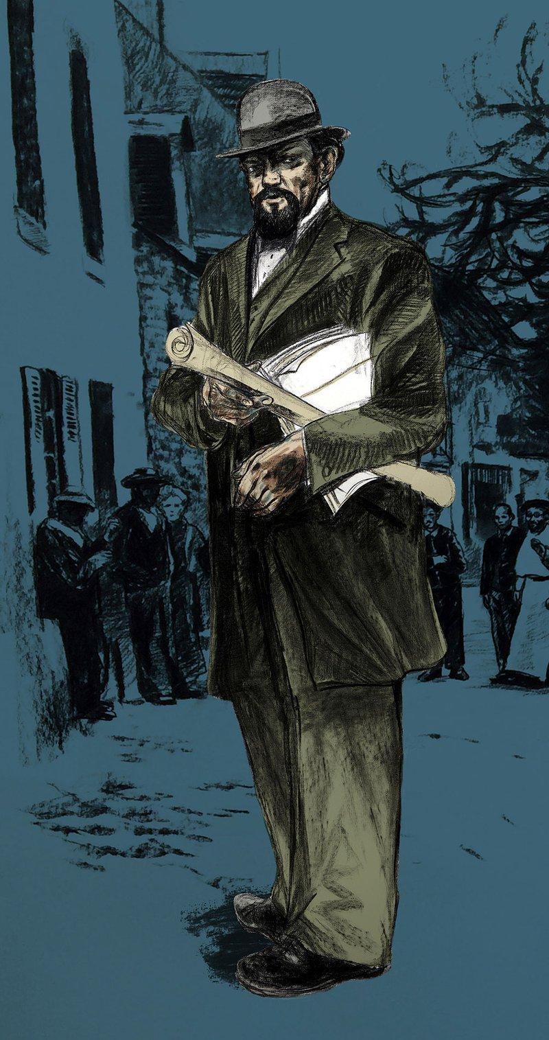 entrepreneur pour monument aux morts - dessin ©GaeleFlao