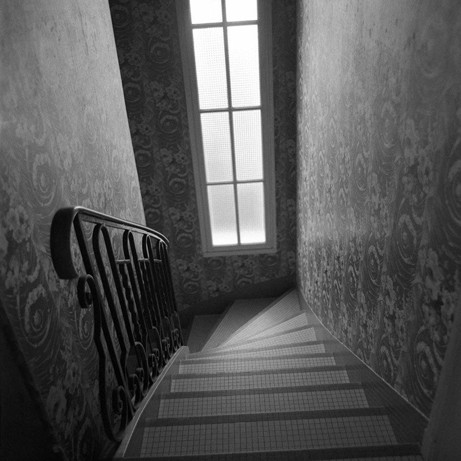 Du vide dans la maison Alzheimer sylvain bouttet escalier.jpg
