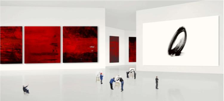 espace museaux Muriel Bordier galerie Le Lieu