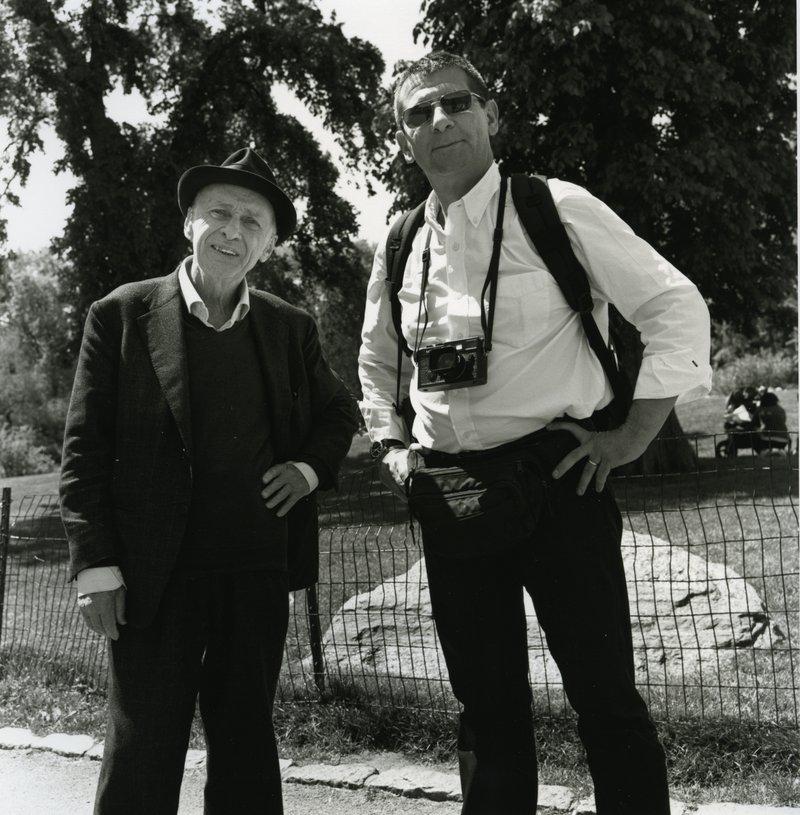 Jacques Villeglé et François Poivret