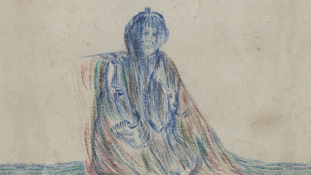 la dame de st lunaire dessin Agathe Doléron KuB