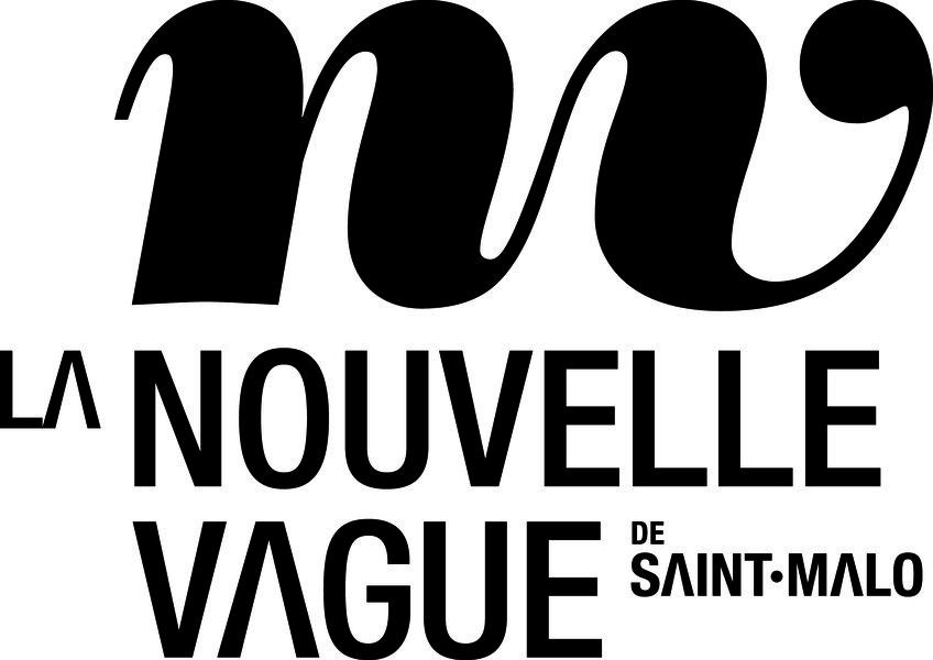 logo nouvelle vague saint malo