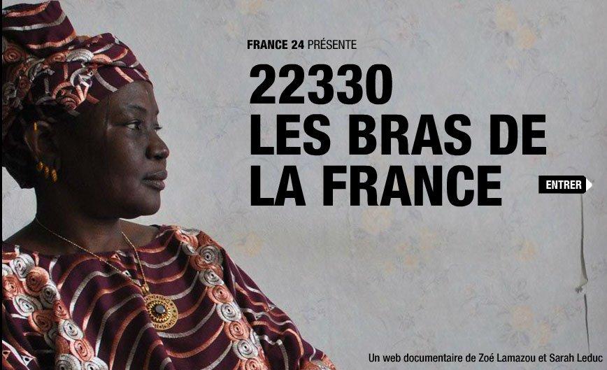 les bras de la France Webdoc France 24