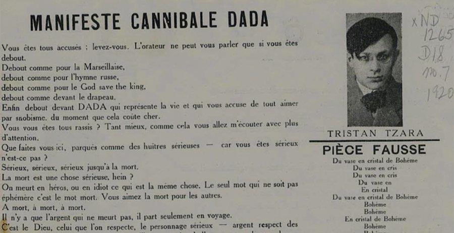 Manifeste DaDa