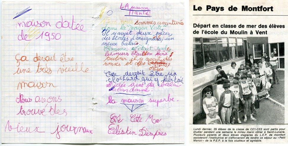note Agathe Doléron la dame de saint lunaire KuB