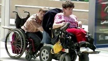 Peter Pan Jacques fauteuil roulant