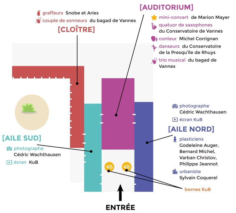 Plan inauguration KuB auditorium des Carmes 4 juillet