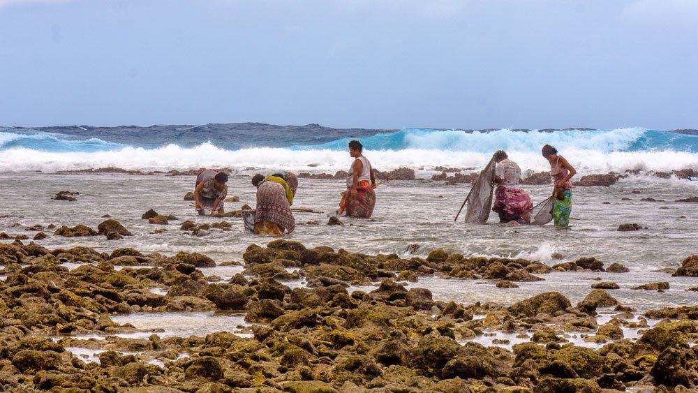 Femmes à la pêche Tikopia