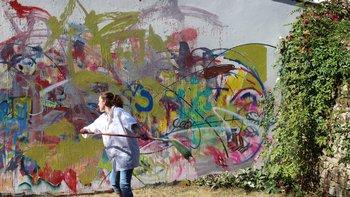 Atelier peinture en extérieur - Villa Gregam