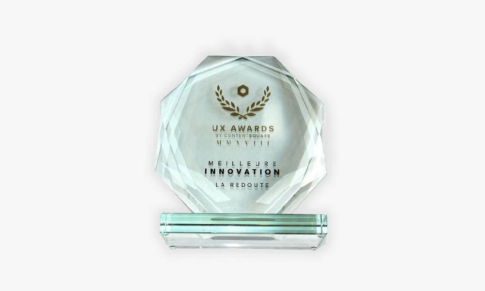 Award UX La Redoute