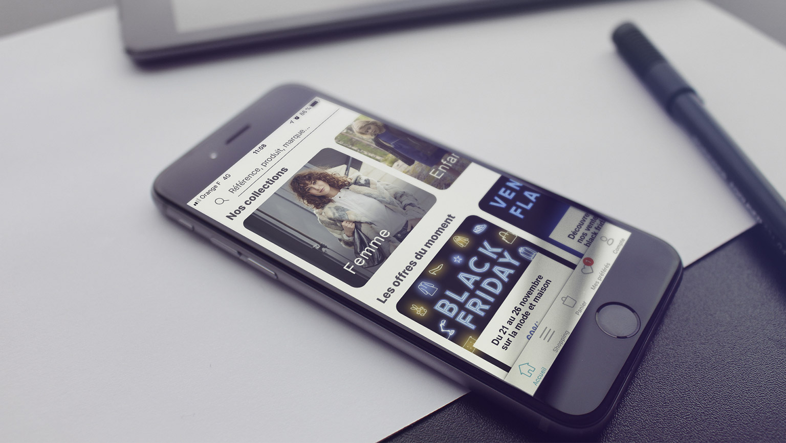 Reconnaissance vocale et visuelle dans l'Apps