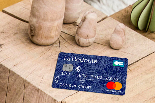 Carte de paiement Mastercard x La Redoute