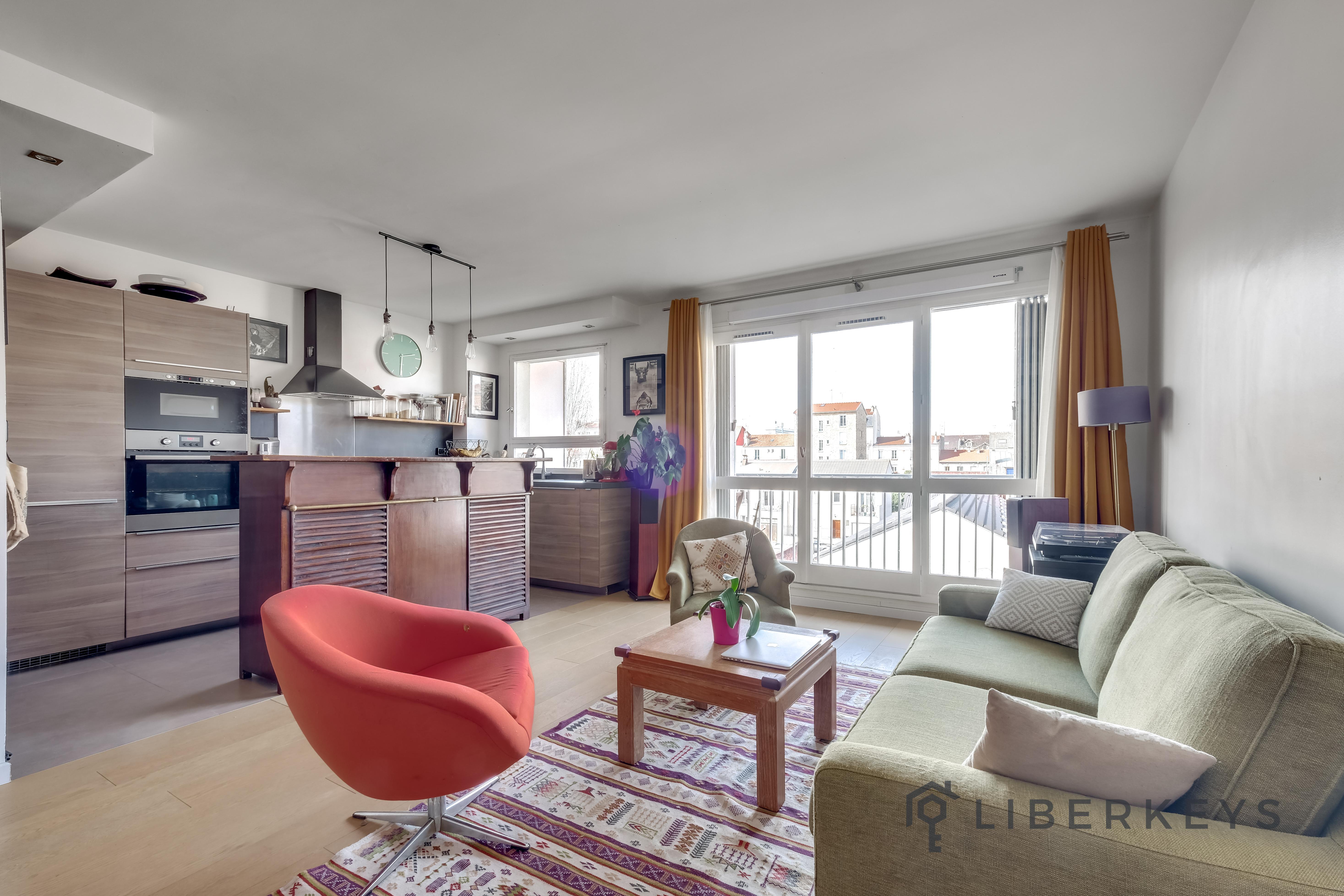 vente appartement 3 pi ces 65m 94200 ivry sur seine liberkeys. Black Bedroom Furniture Sets. Home Design Ideas