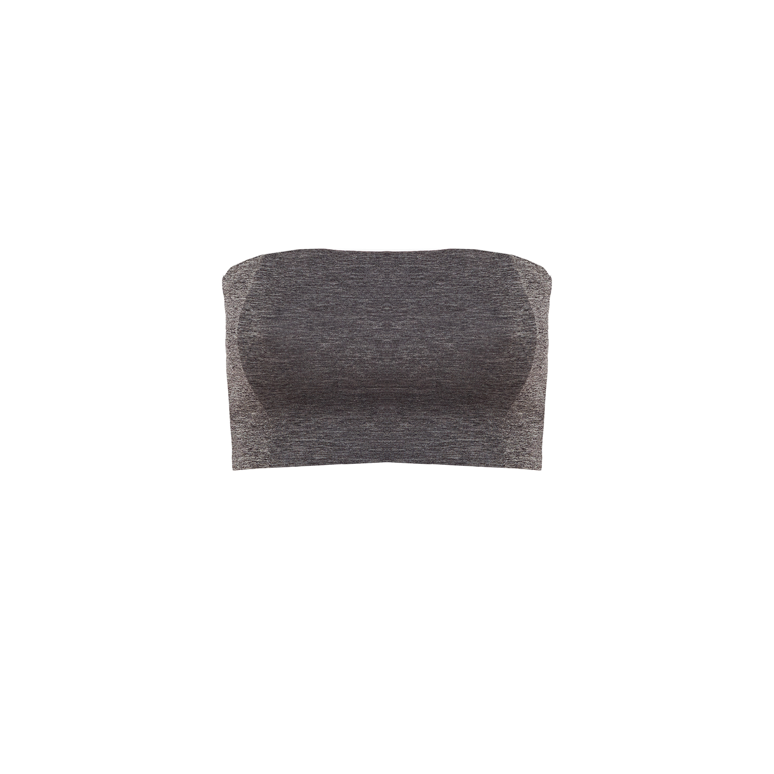 Linda Raff Collection -TOP TIRA GREY MELANGE