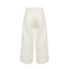 Linda Raff Collection -PANTS CORN WHITE LINEN
