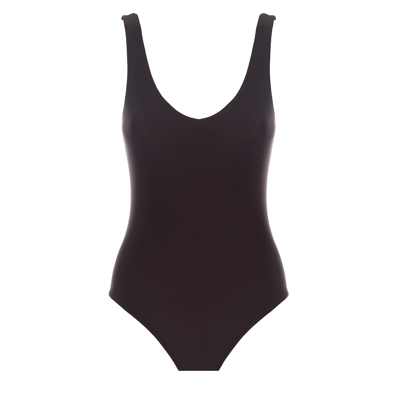 Linda Raff Collection -ONE-PIECE BASIC CHOCOLATE