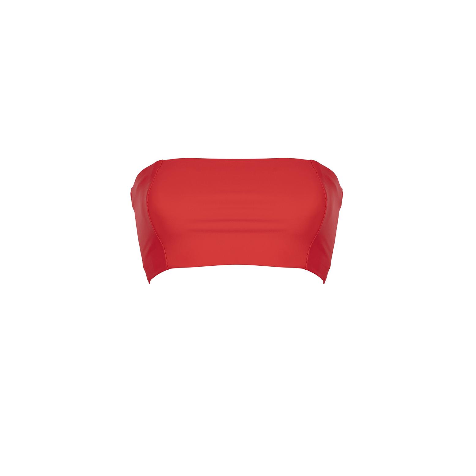 Linda Raff Collection -TOP TIRA ECO RED
