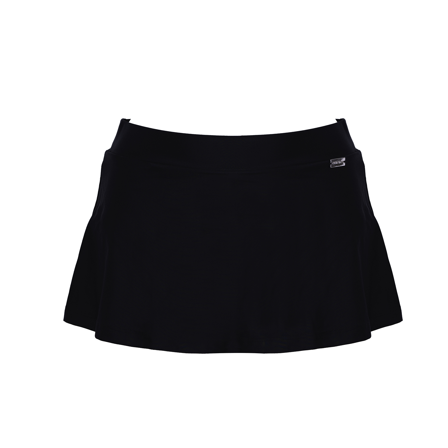 Linda Raff Collection -SLIP SKIRT ECO BLACK