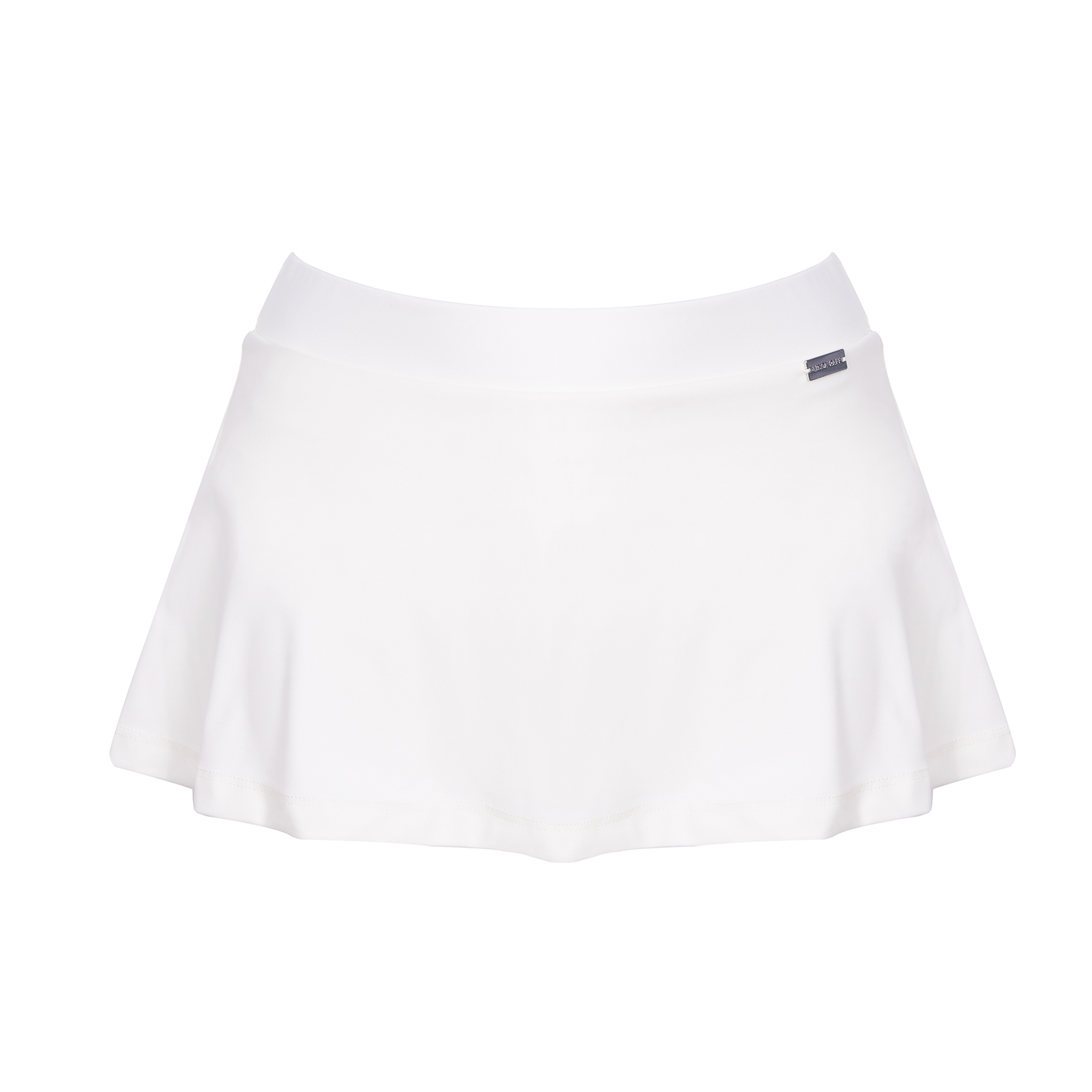 Linda Raff Collection -SLIP SKIRT ECO AVORIO