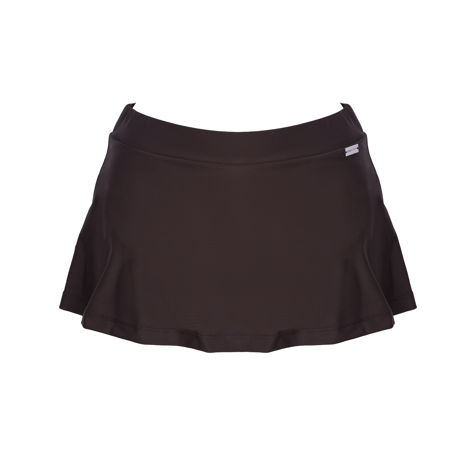 Linda Raff Collection -SLIP SKIRT ECO CHOCO