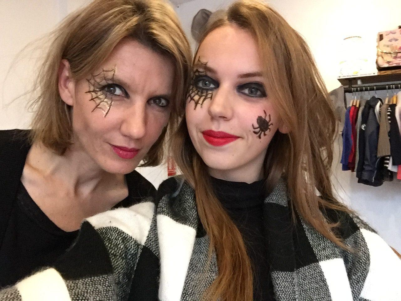 Atelier de Maquillage qui-font-peur chez Little Wing