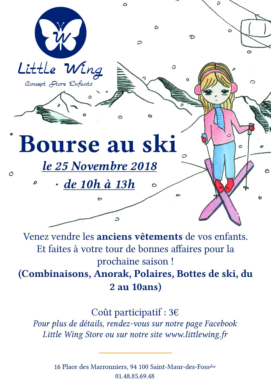 Bourse au ski dimanche 25 novembre