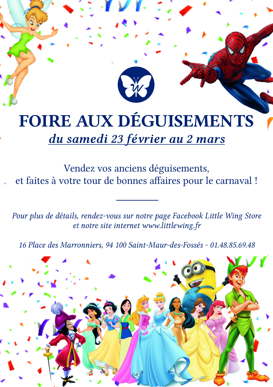 Semaine du Carnaval chez Little Wing du 23 février au 02 mars