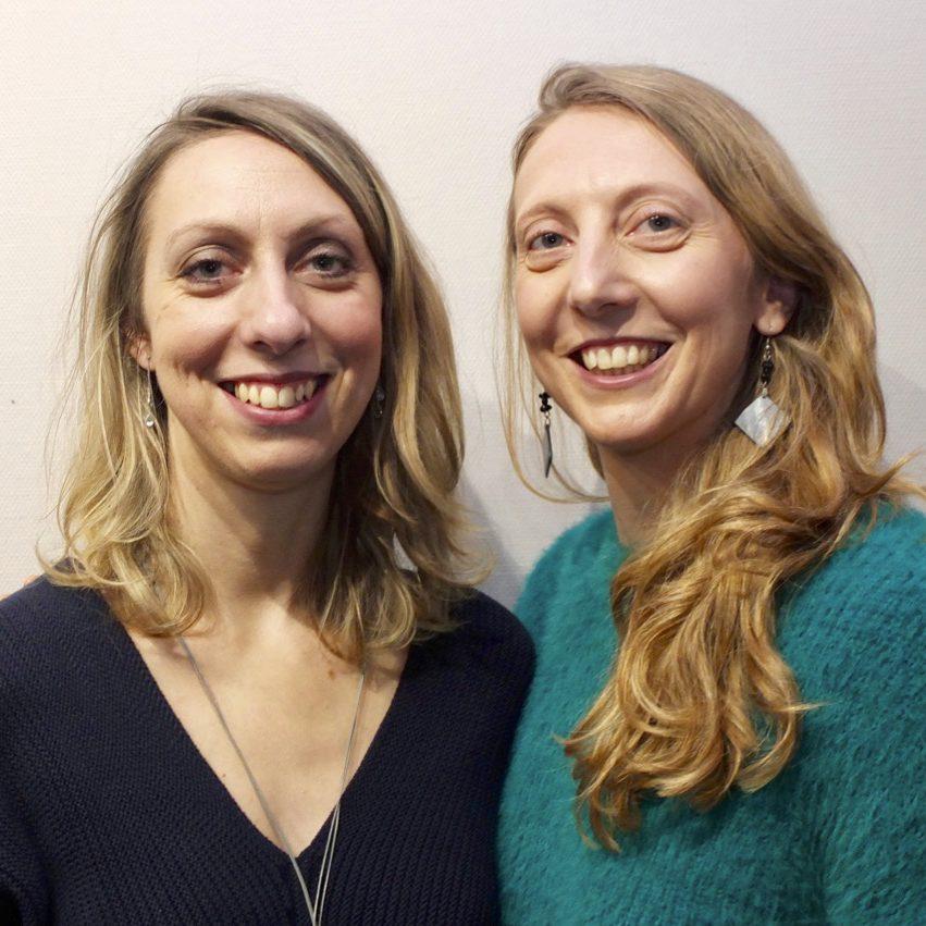 Aurélie Bessiere et Amélie Nocek