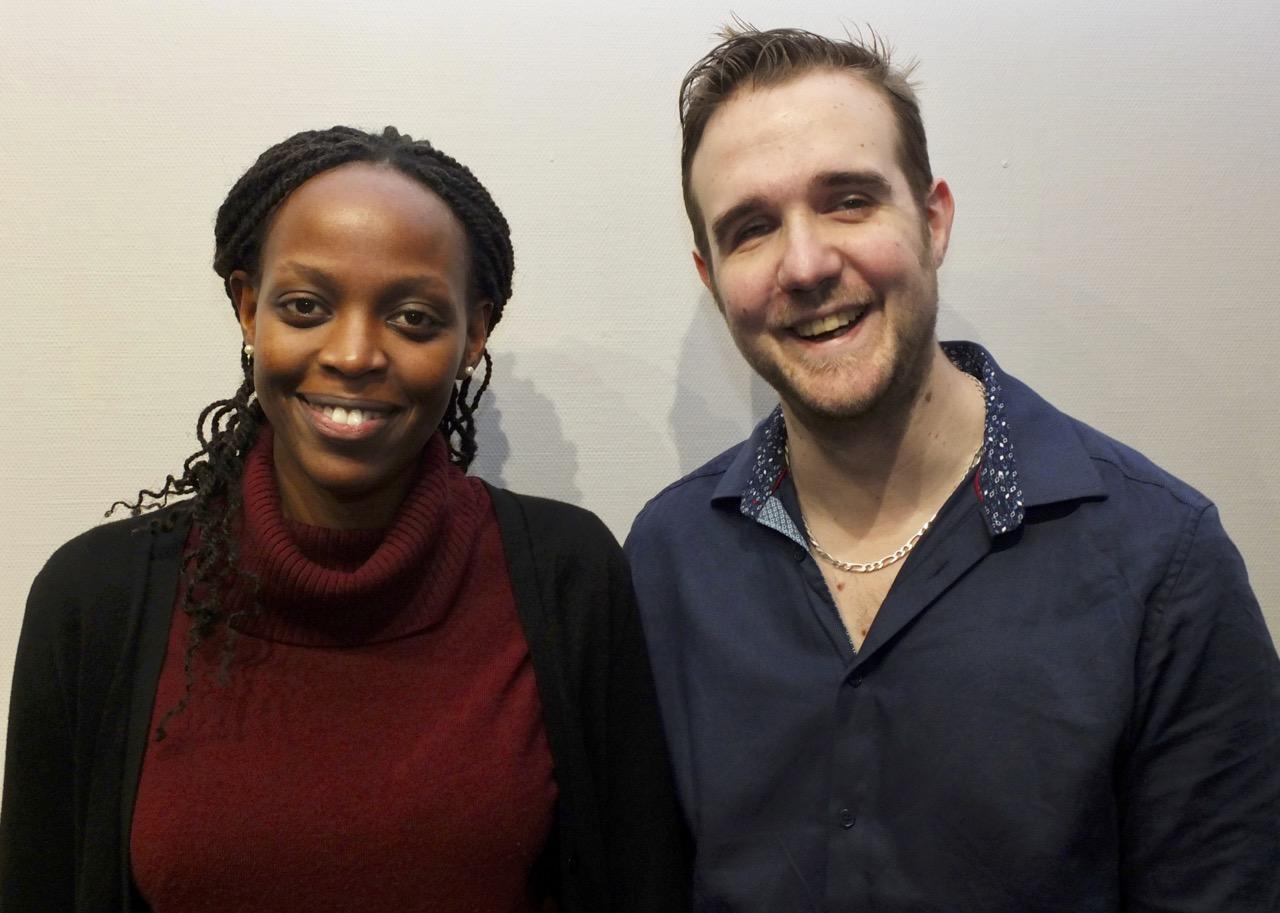 Fabienne et Johan