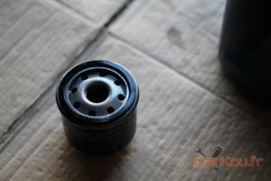 Filtre à huile neuf huilé