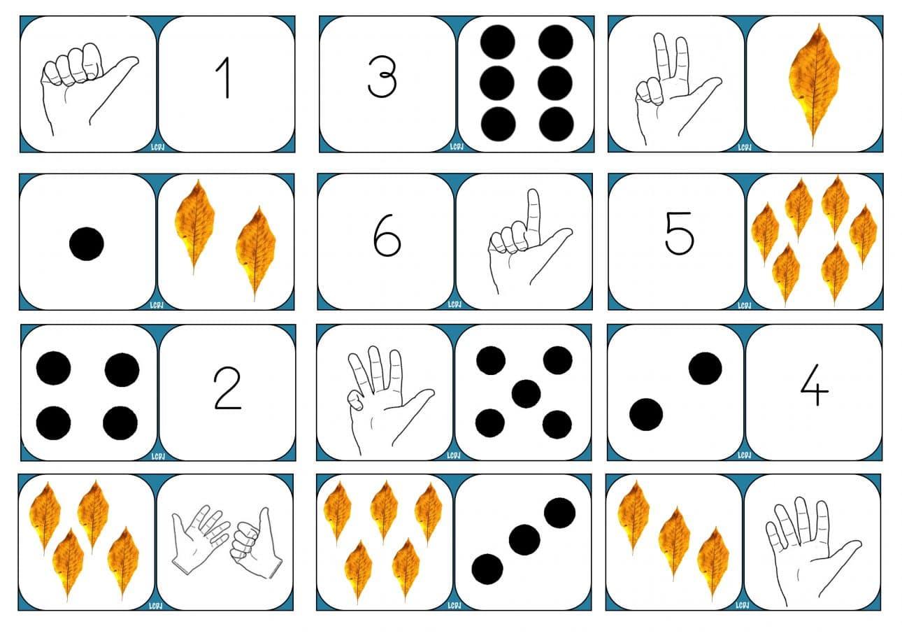 Le domino des nombres